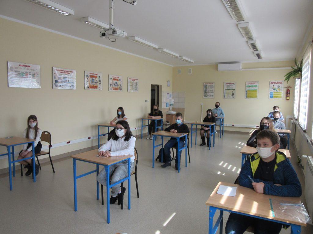 Wyniki szkolnego konkursu matematycznego